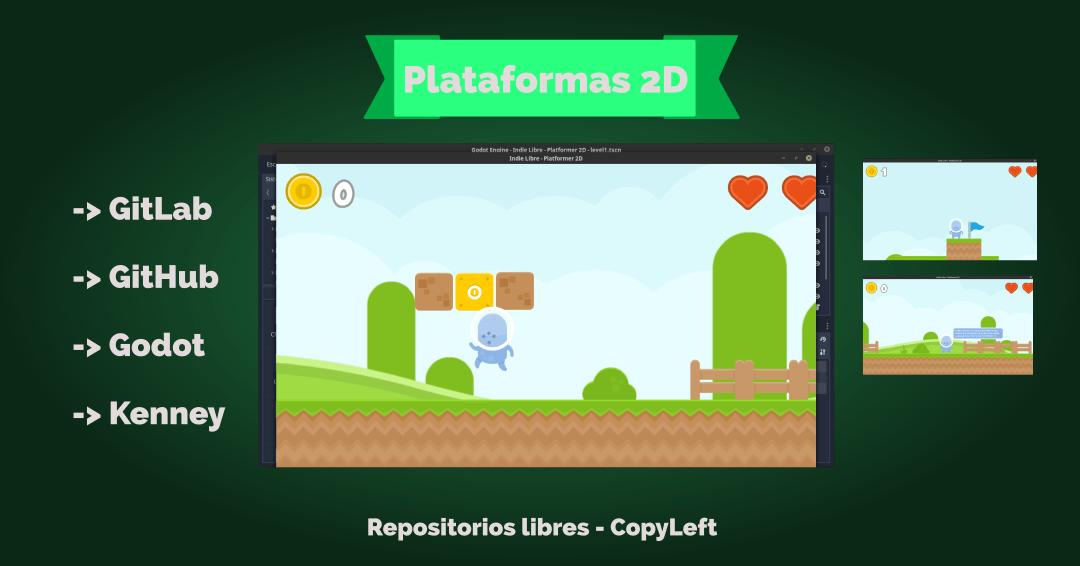 Repositorios Libres – Plataformas 2D