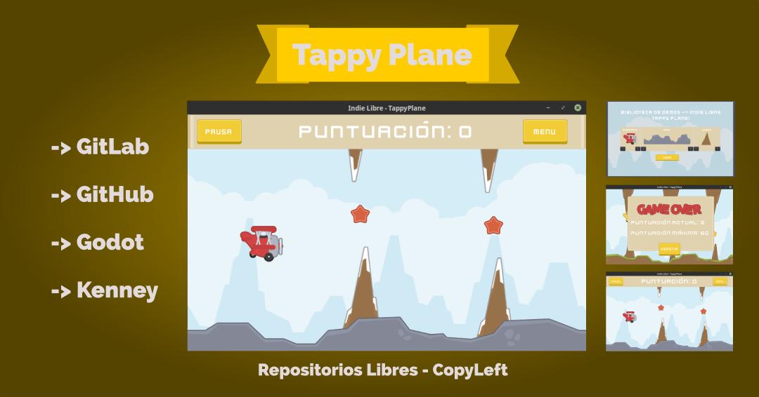 Repositorios Libres – Tappy Plane