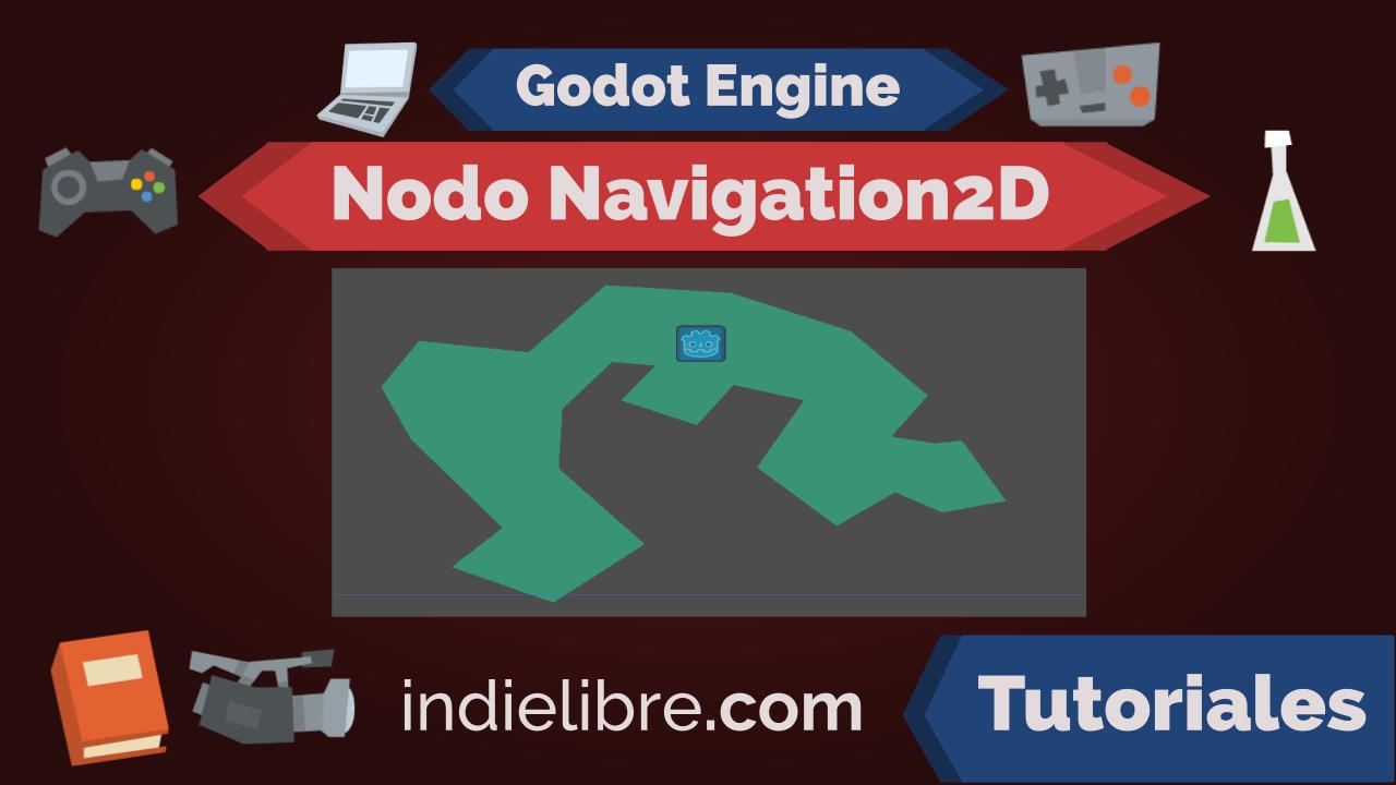 """Cómo hacer """"caminos"""" (Path) con el nodo Navigation2D – Godot Engine"""