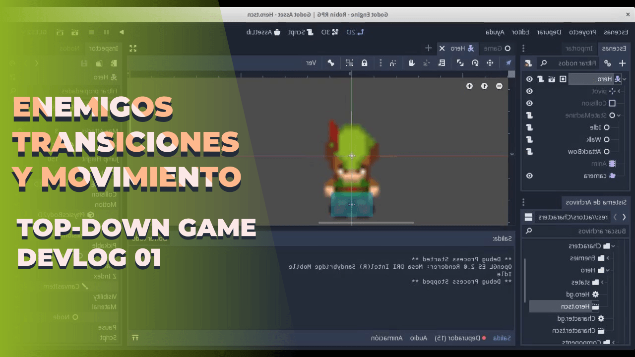 Top-Down Game – Godot Demo – DevLog #1